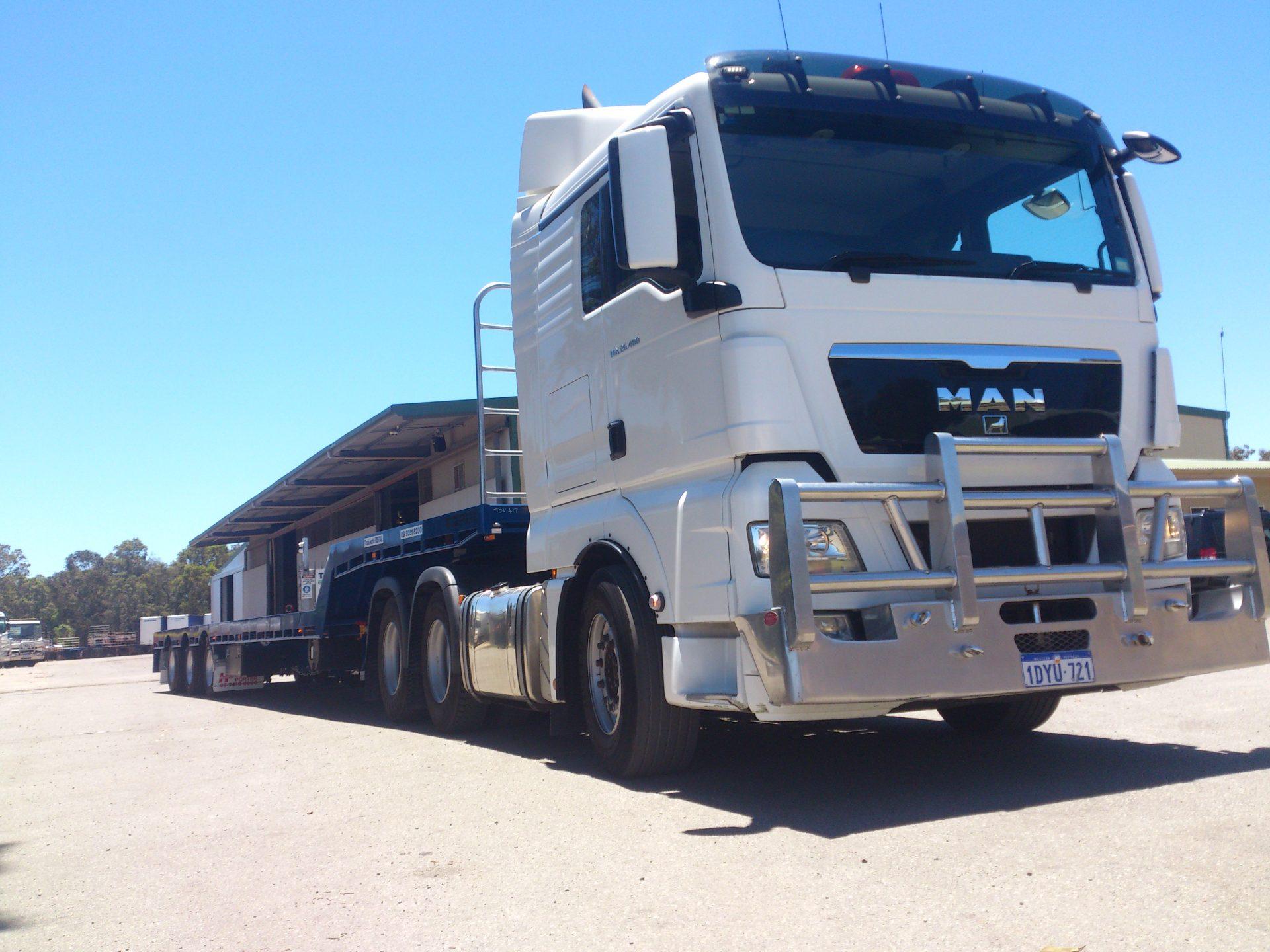 PRIME MOVER MAN TGX 540