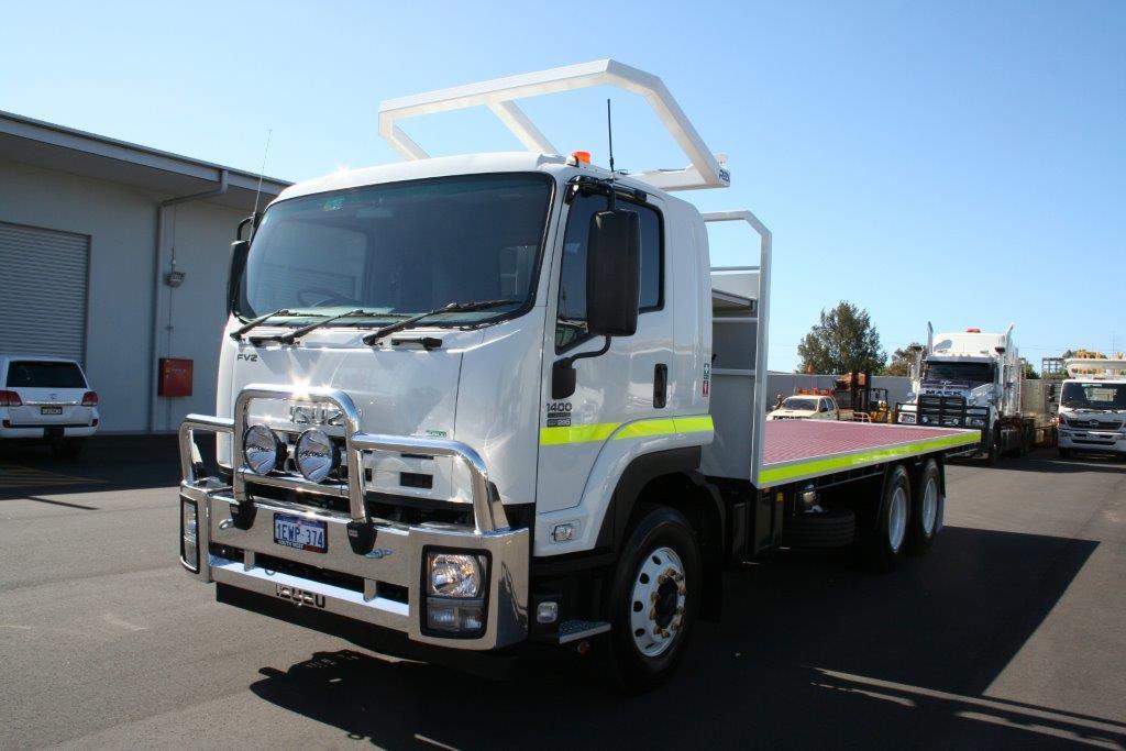 12 tonne flat bed truck