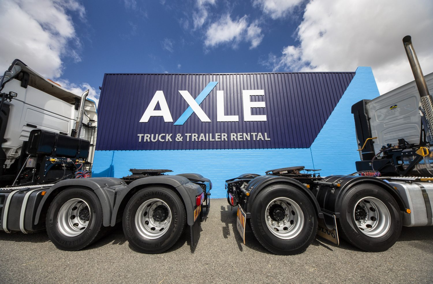 Axle Truck and Trailer