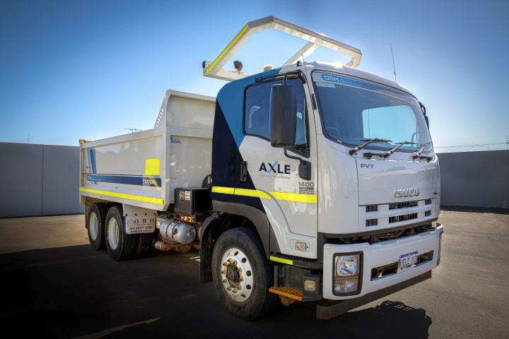 Our beautiful tipper trucks